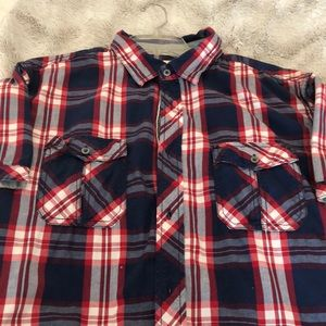 Shortsleeved Button Down